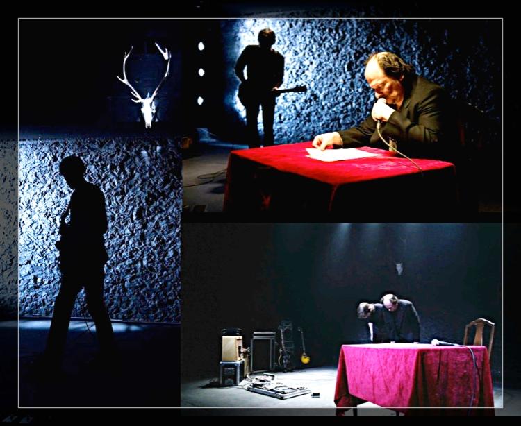 Roland Vouilloz et Christian Pralong (guitare électrique), Petit théatre de Sion, 30-31janvier 2015